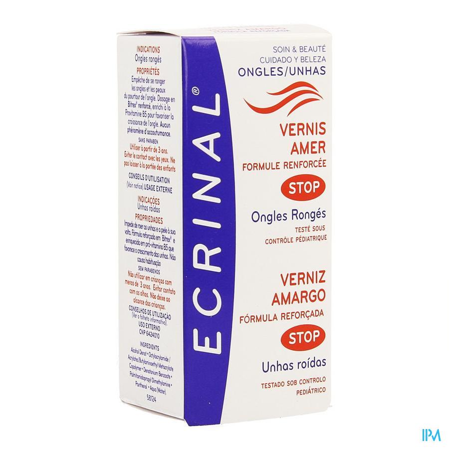 Ecrinal Vernis Ongles Amer Fl 10ml 20218