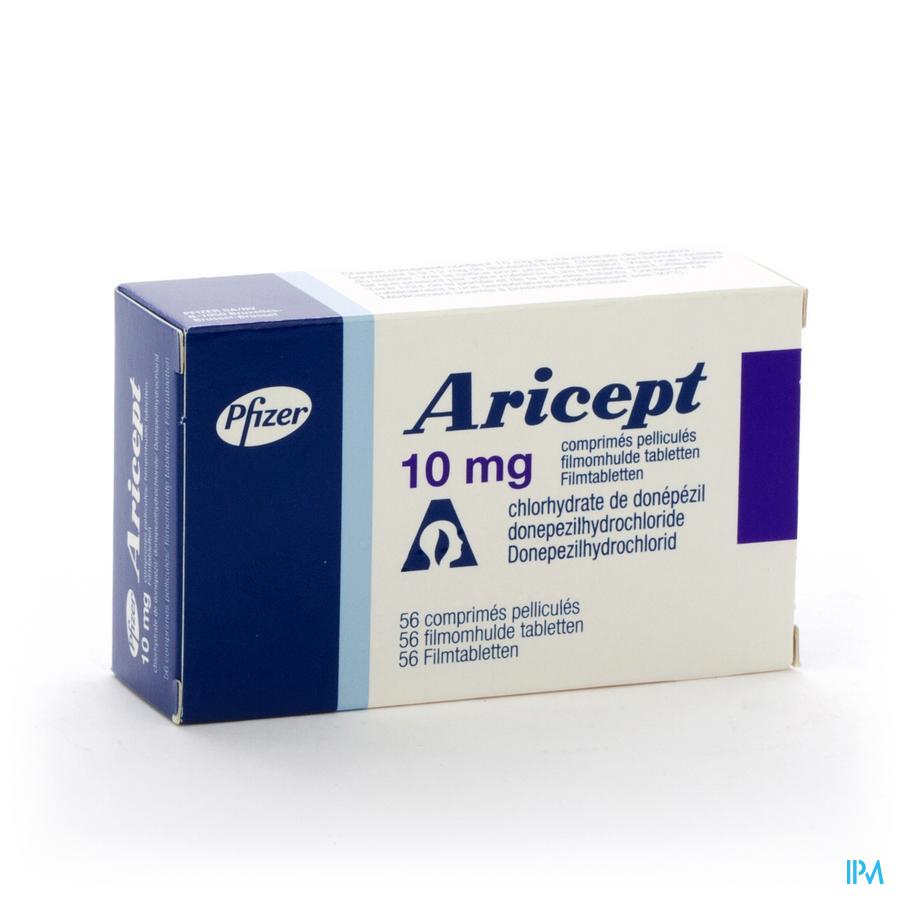 Aricept 10 mg Filmomhulde Tabletten 56 X 10 mg