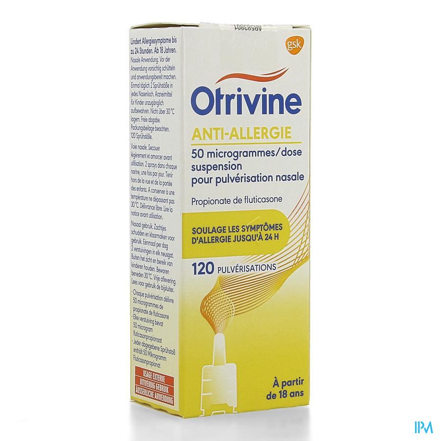 Otrivine Anti Allergie Spray 120 Doses
