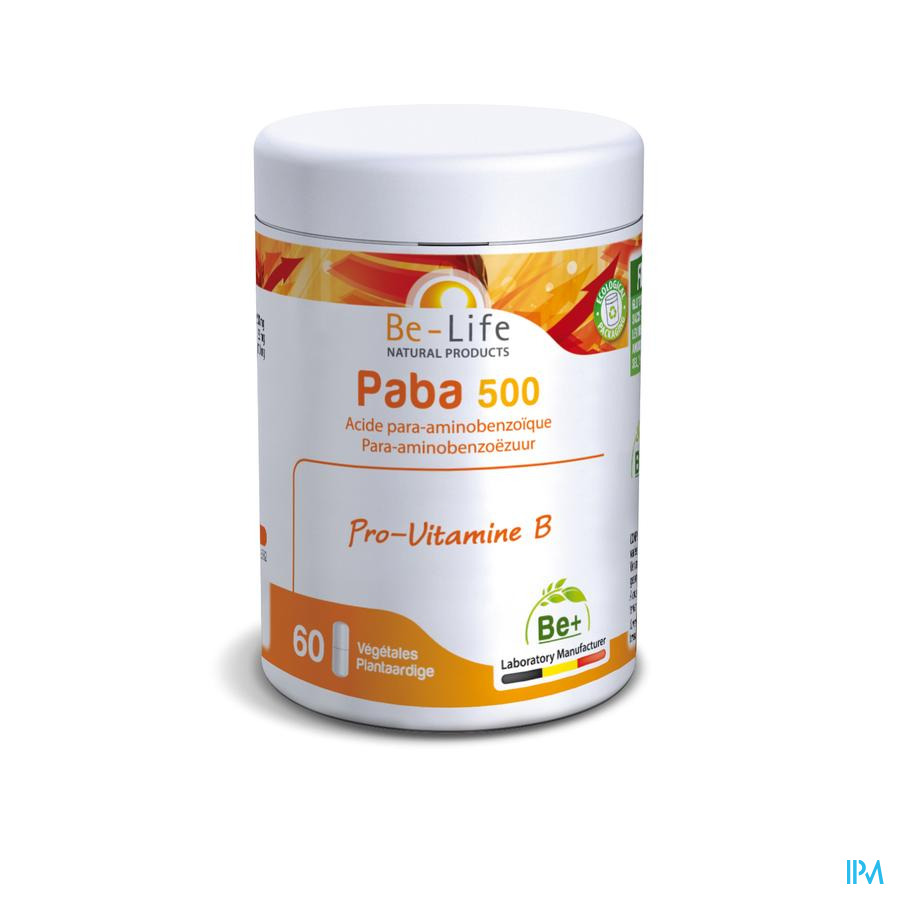 Paba Vitamines Be Life Gel 60x500mg