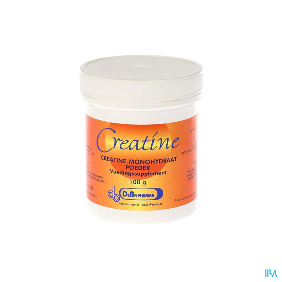 Creatine Monohydrate Pdr Soluble 100g Deba