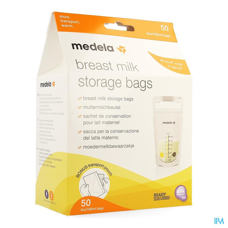 Medela Sacs Recueil Lait Maternel 180ml 50