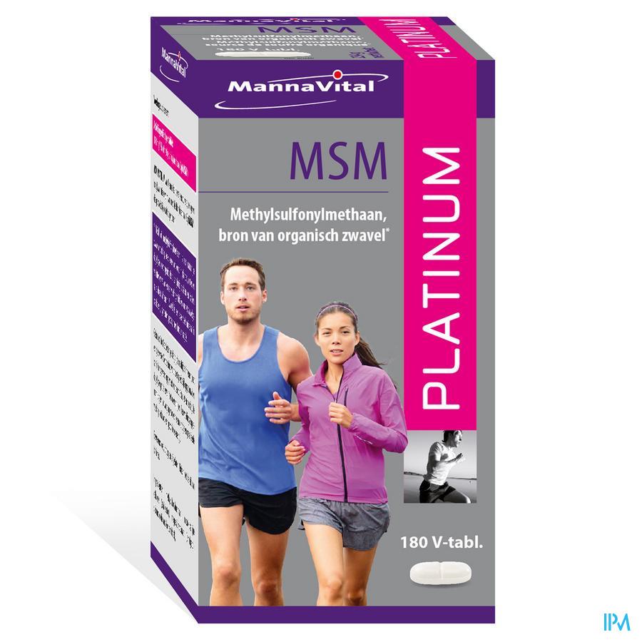 Msm Platinum V-tabs 180