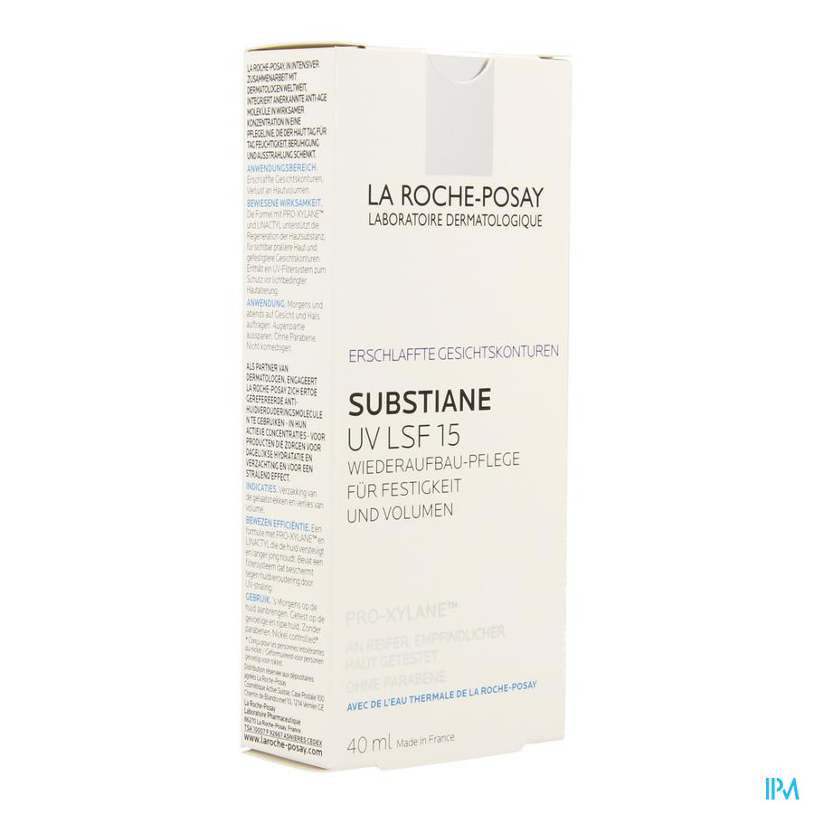 La Roche Posay Substiane Uv A/age Reconst.fondamental 40ml