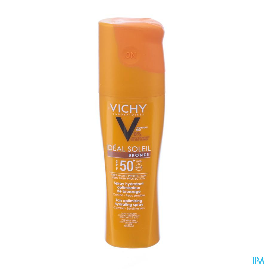 Vichy Cap Ideal Soleil Ip50 Bronze Spray 200ml
