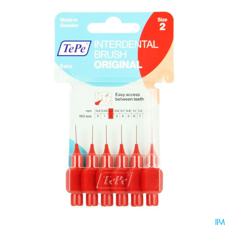 Tepe Interdental Brush 0,50mm Red 6
