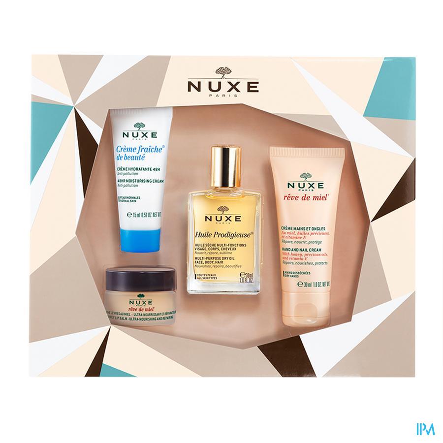 Nuxe Coffret Noel Best Seller 4 Prod
