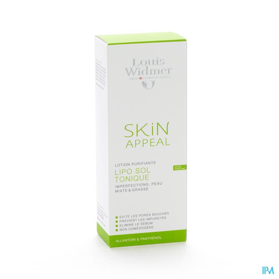 Widmer Skin Appeal Lipo Sol Lotion N/parf Fl 150ml