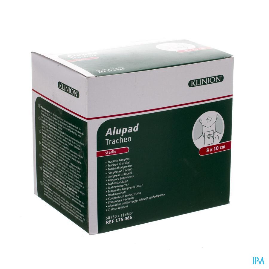 Alupad Tracheo Kompres Ster 8x10cm 1 4175066