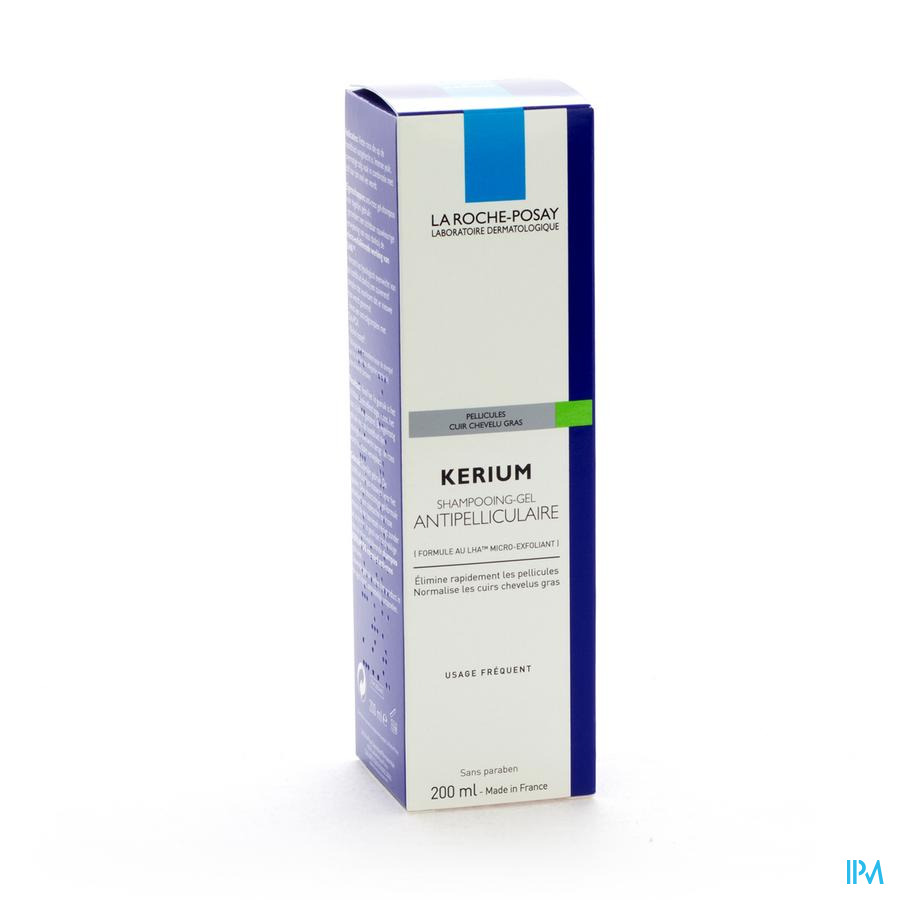Lrp Kerium Sh Gel Antipelliculaire Pg 200ml