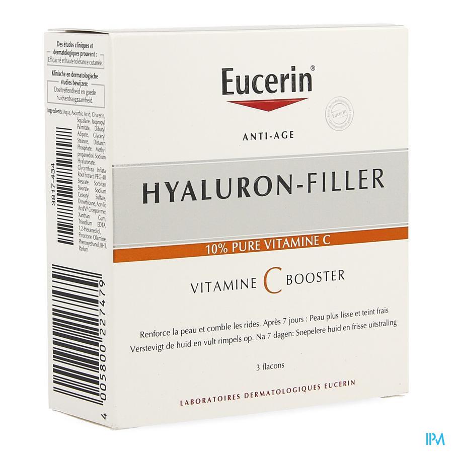 Eucerin Hyaluron Filler Vitamine C Booster 3x8ml