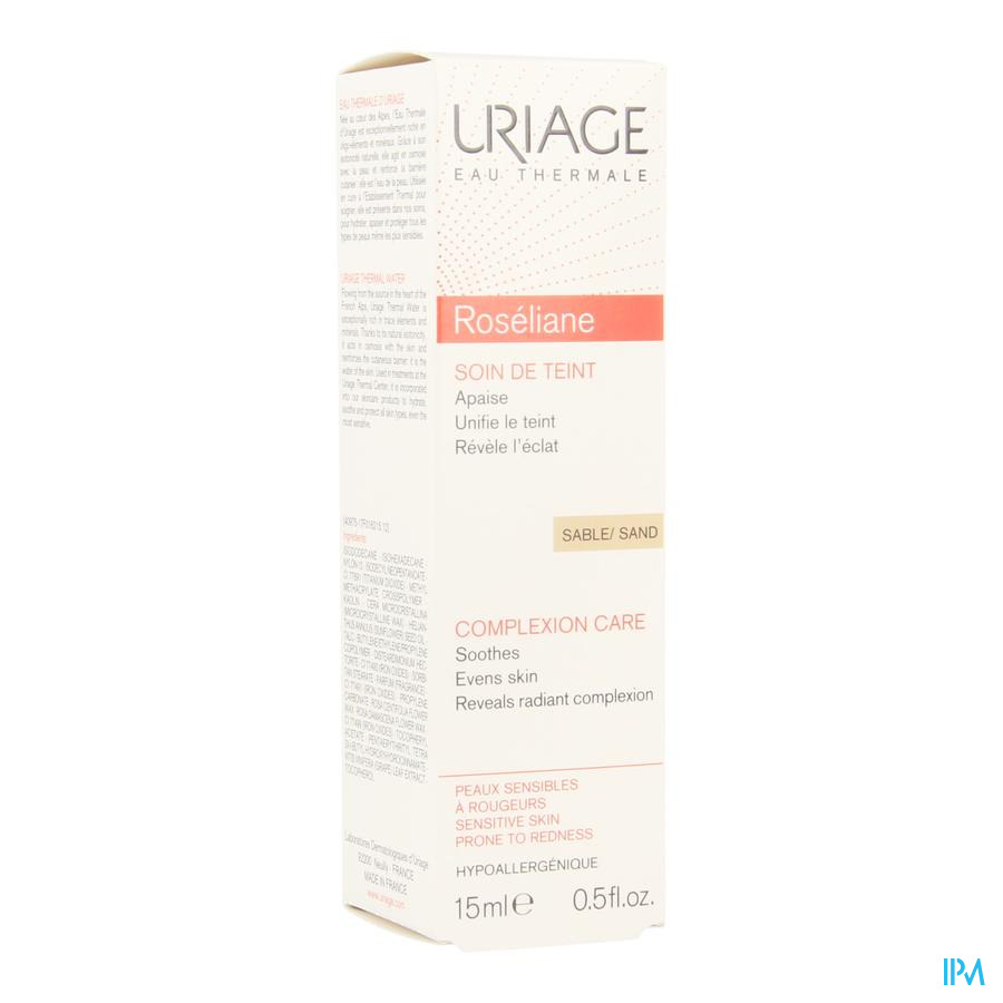 Uriage Roseliane Soin Teint Sable 01 15ml