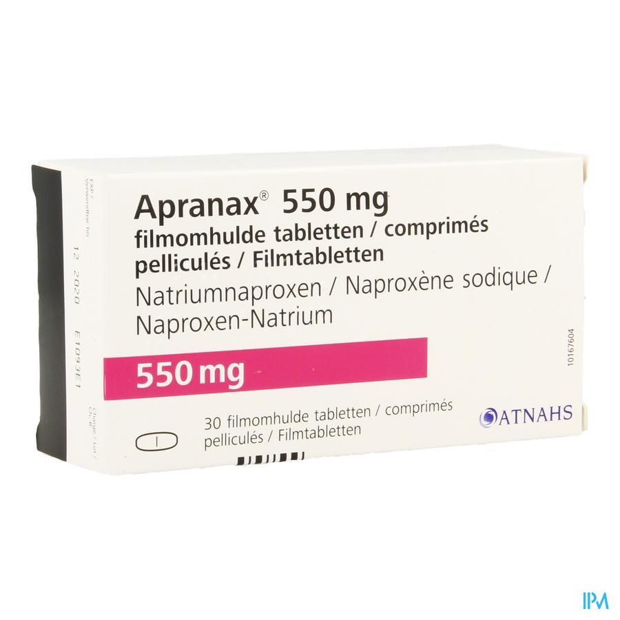 Apranax 550mg Filmomh Tabl 30 X 550mg