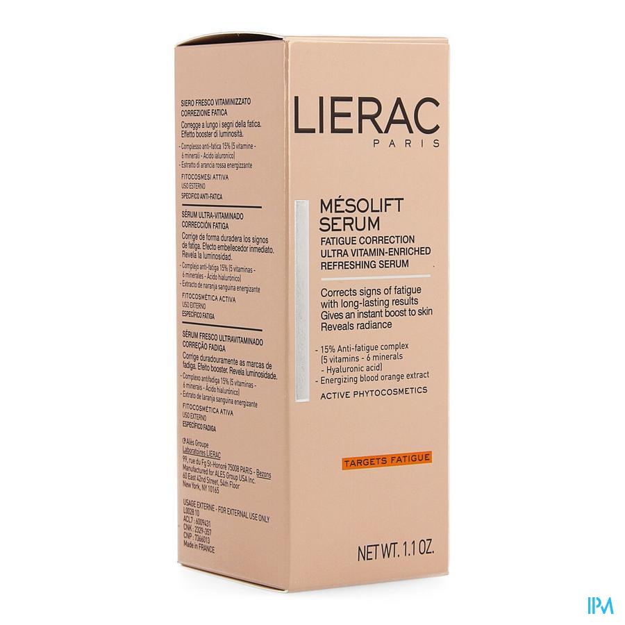 Lierac Mesolift Concentre Serum Fl 30ml