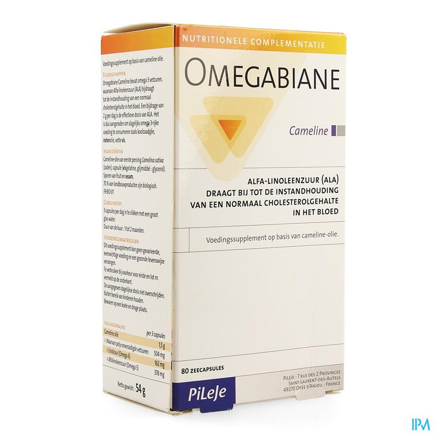 Omegabiane Cameline Caps 80