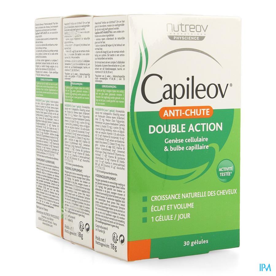 Capileov Anti Chute Tripack Caps 3 X 30 Promo