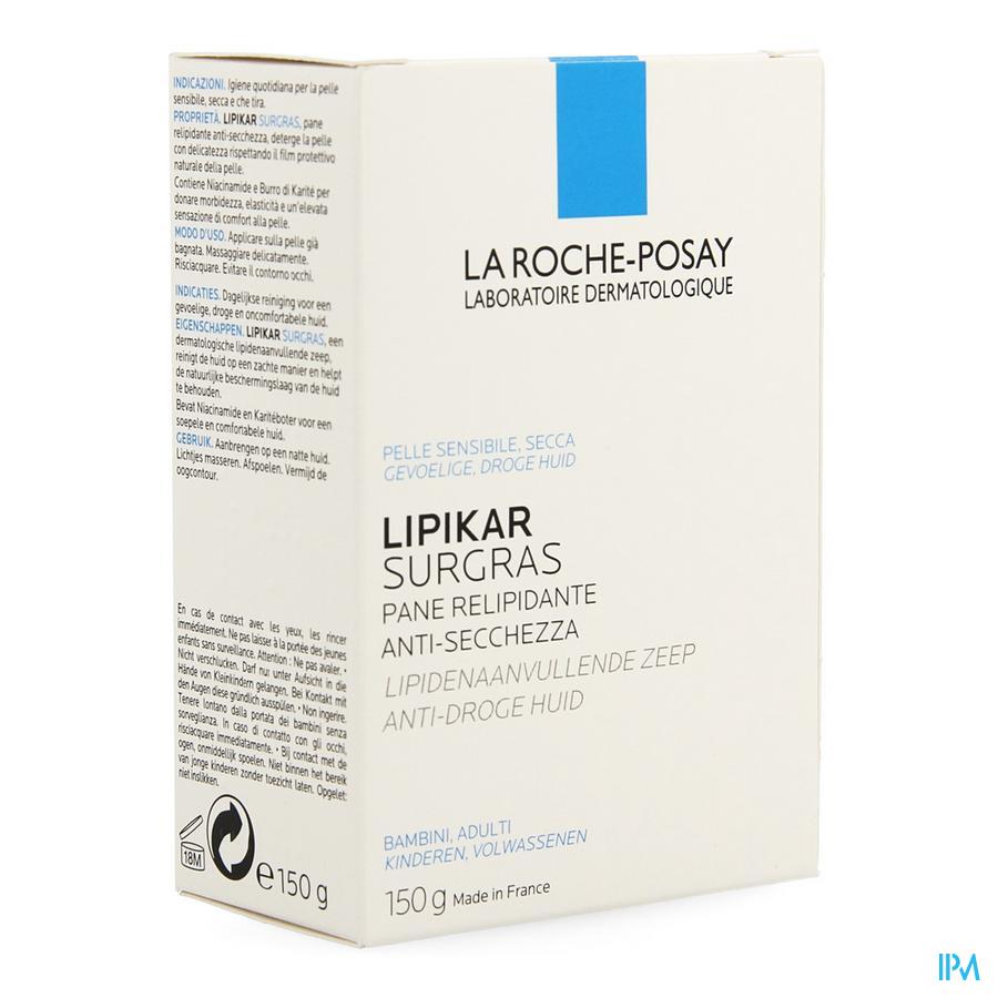 La Roche Posay Lipikar Overvet Wasstuk 150g