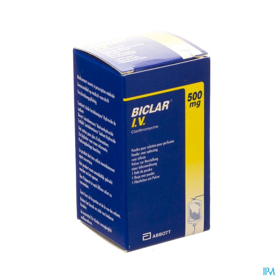 Biclar Iv 1 Vial 500mg