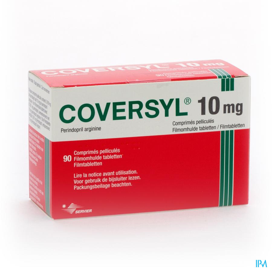 Coversyl Comp 90 X 10mg