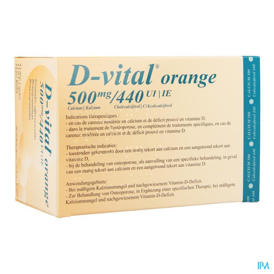 D Vital 500/440 Sachets 30