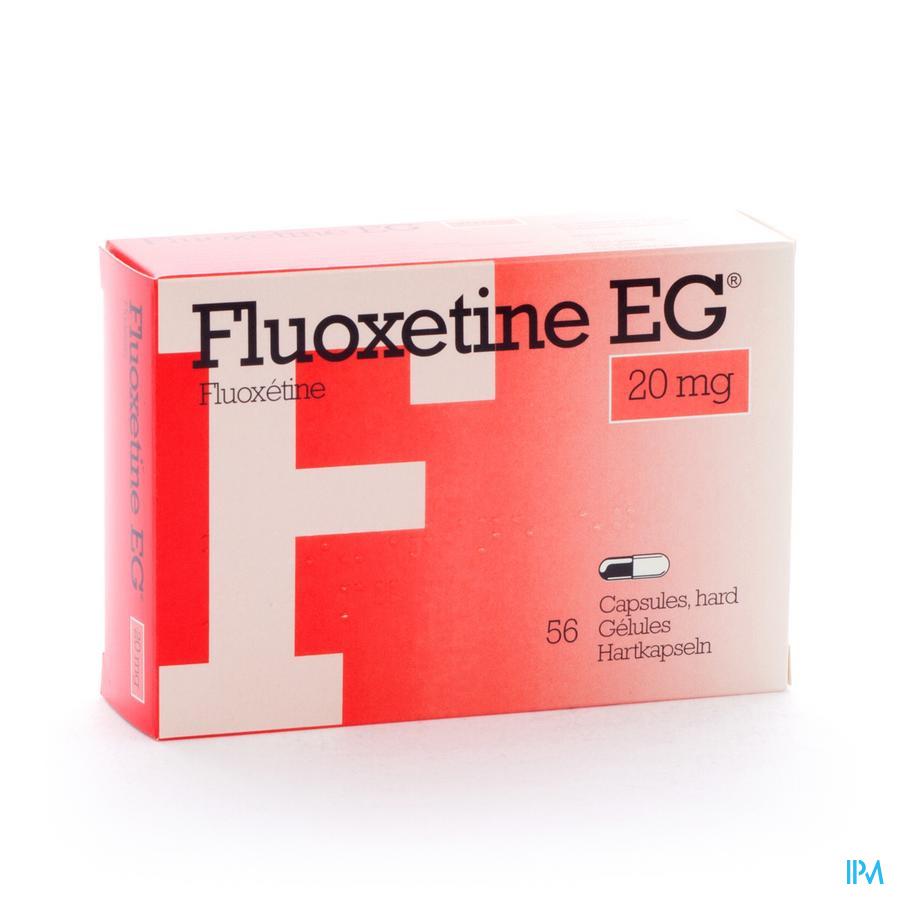 Fluoxetine Eg Caps 56 X 20mg