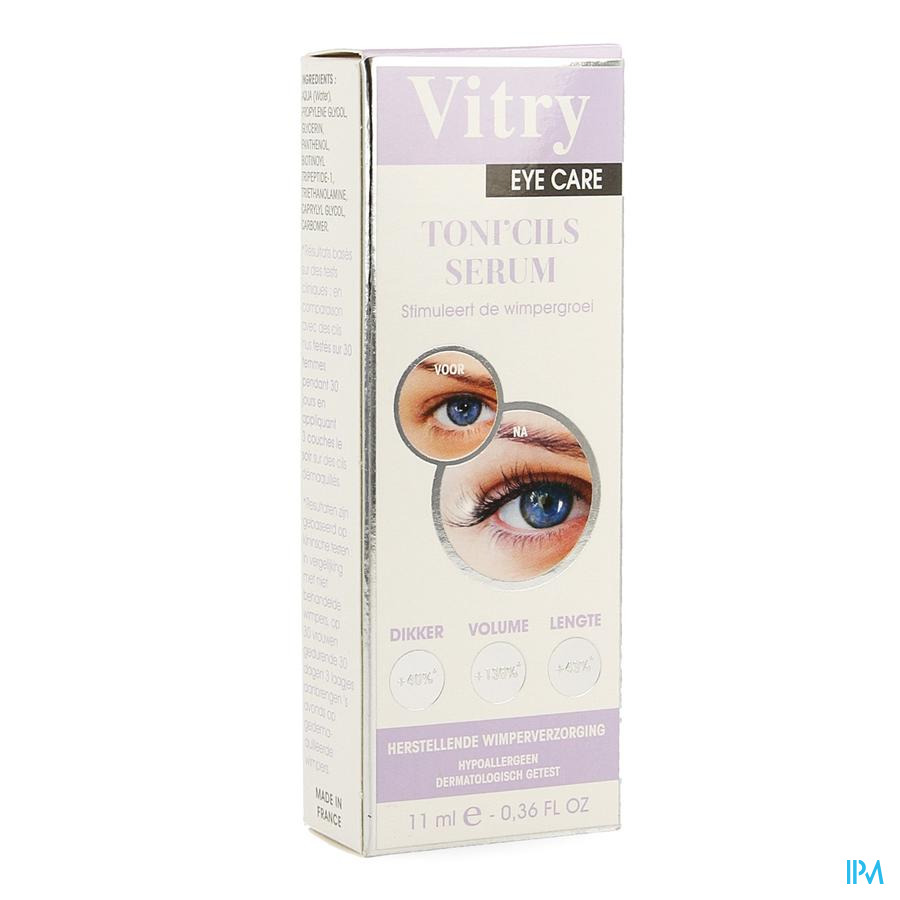 Vitry Toni'cils Wimper Serum Fl 11ml