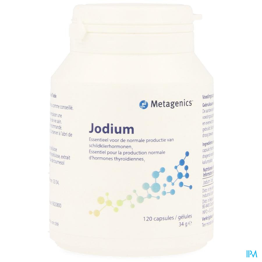 Jodium Caps 60 25670 Metagenics