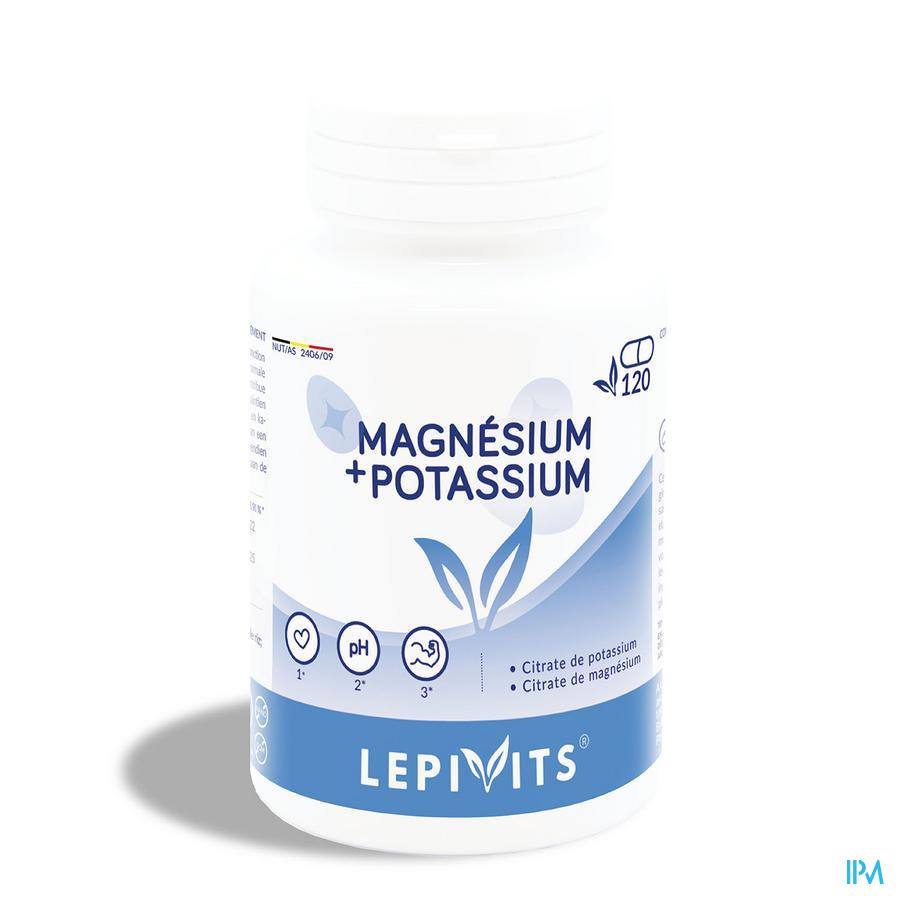 Leppin Magnesium-kalium Gel 120
