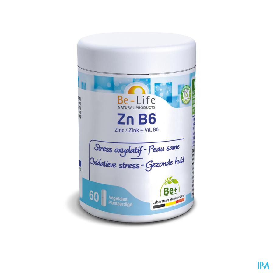 Zn-b6 Minerals Be Life Gel 60