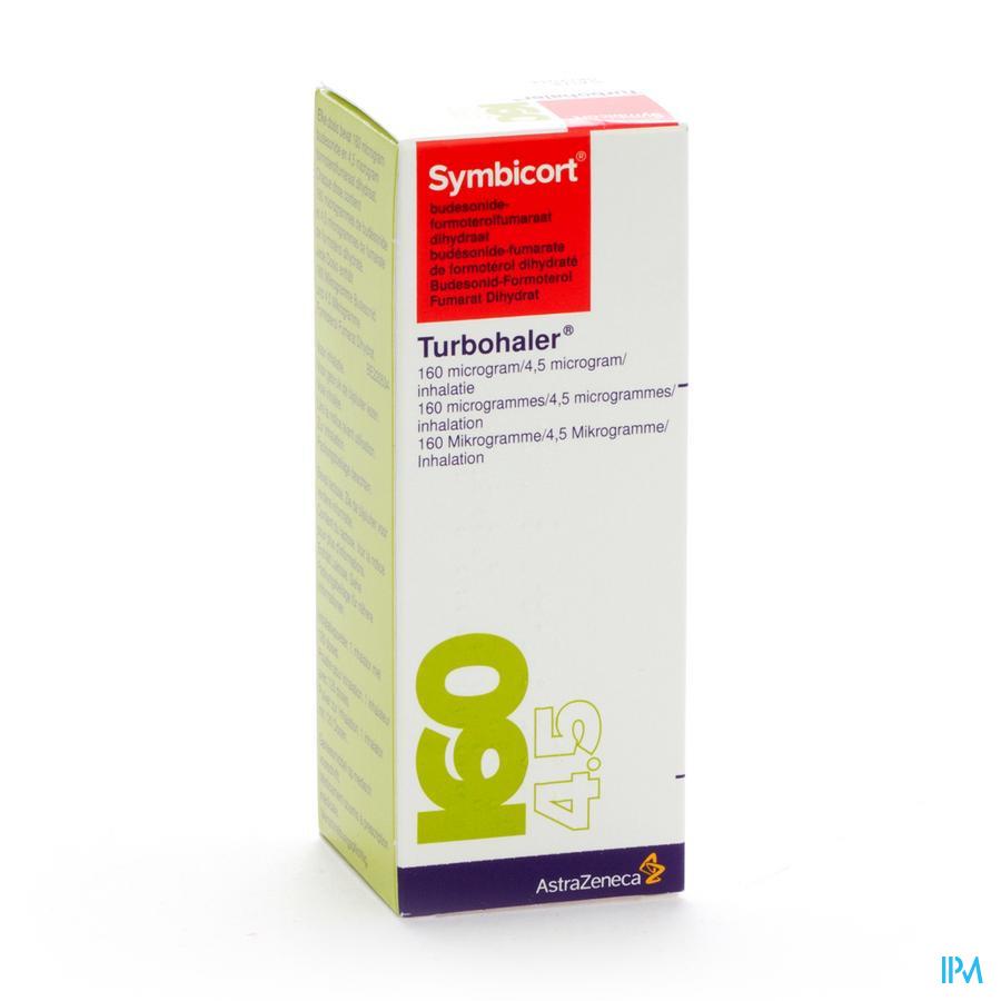 Symbicort Turbohaler 160/4,5ug Doses 1x120