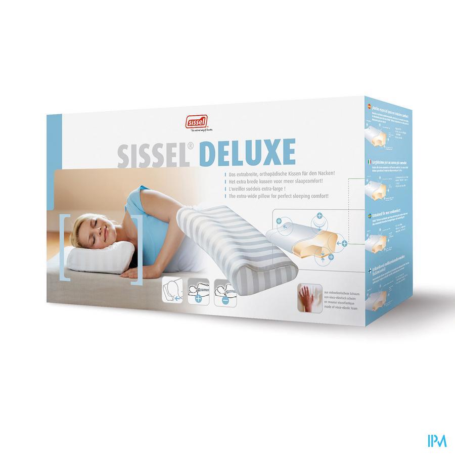 Sissel Deluxe Hoofdkussen Breed+overtr.gewatteerd