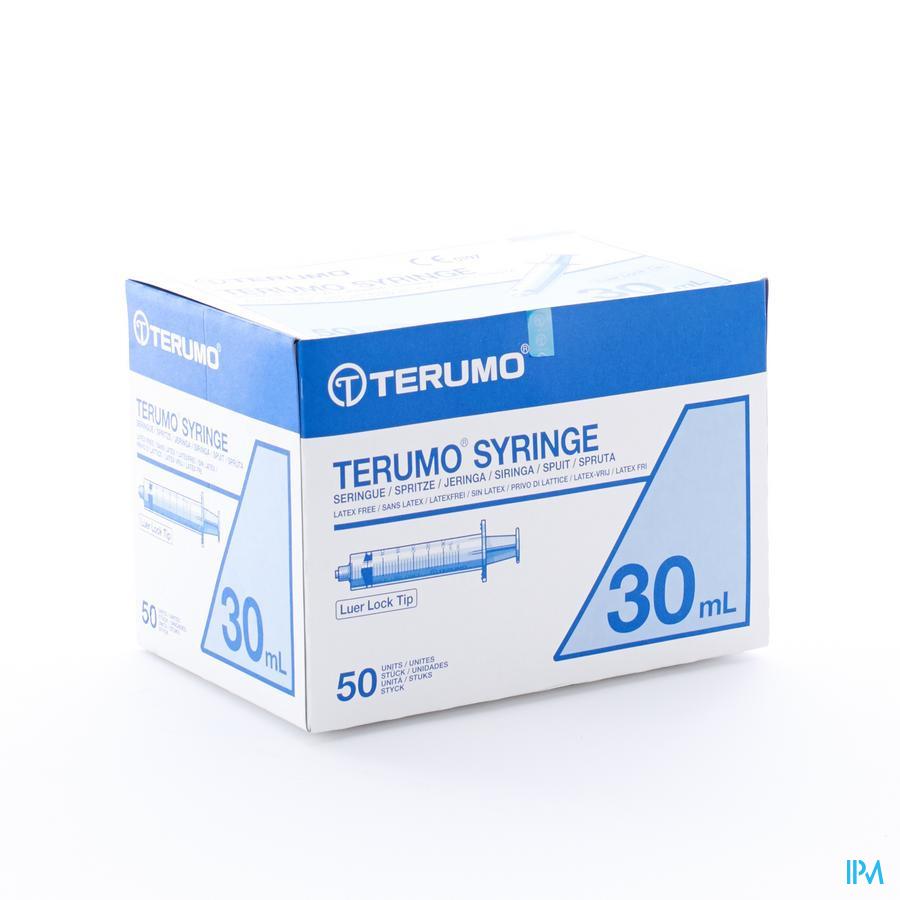 Terumo Spuit Luer Lock 30ml 50