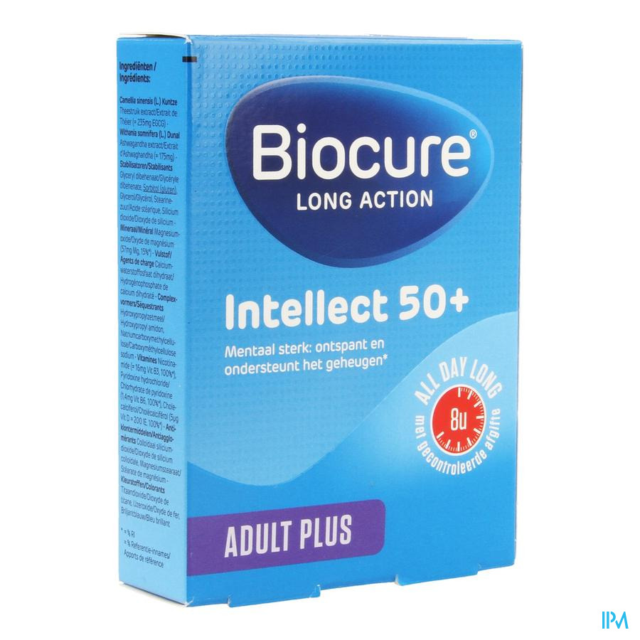 Biocure Intellect 50+ La Comp 30