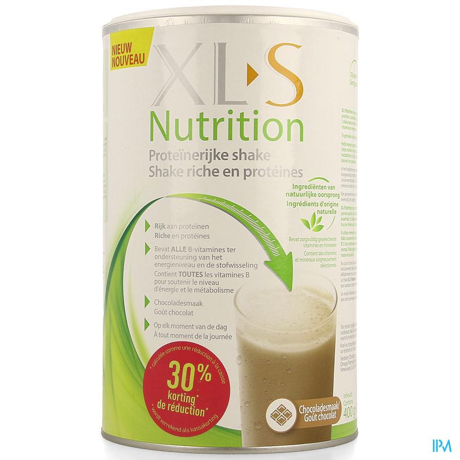 XLS NUTRITION PROTEINE CHOCO 400 G -30 %