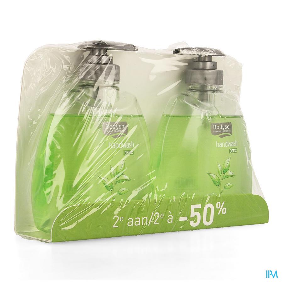 Bodysol Handwash Detox Promo 2x300ml 2de -50%