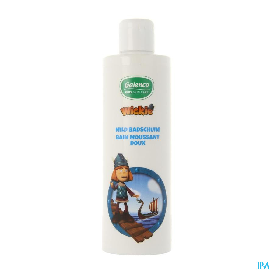 Galenco Kids Wickie Badschuim Mild 250ml