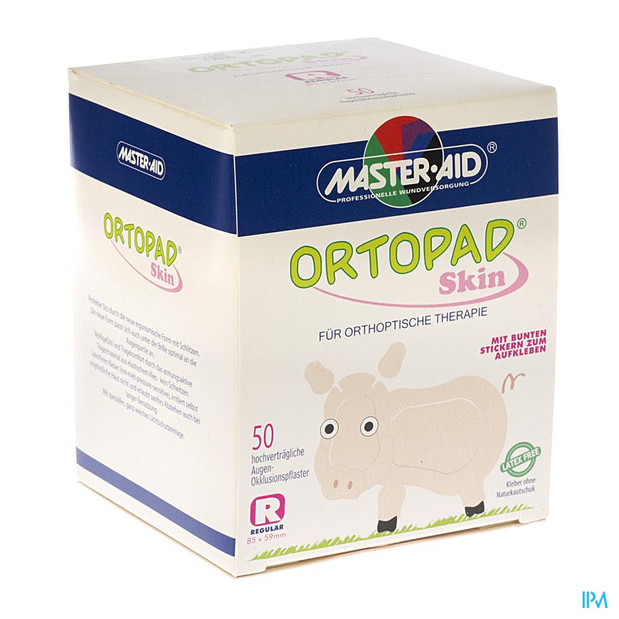 Ortopad Skin Regular Oogkompres 50