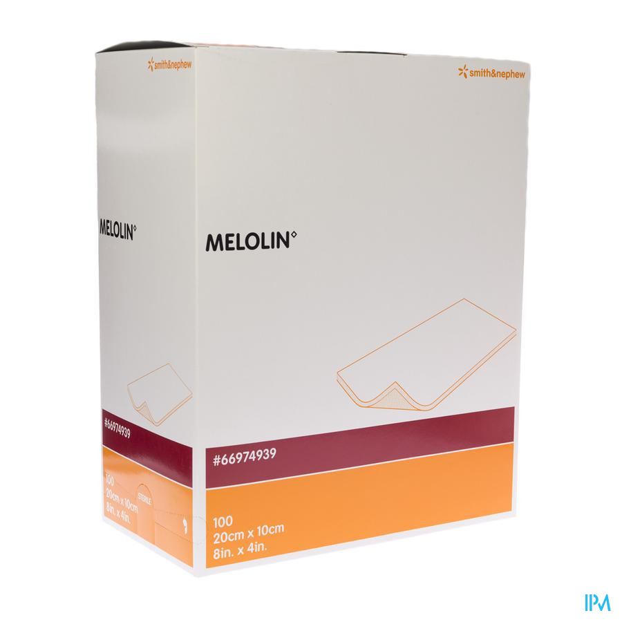 Melolin Cp Ster 10x20cm 100 66974939