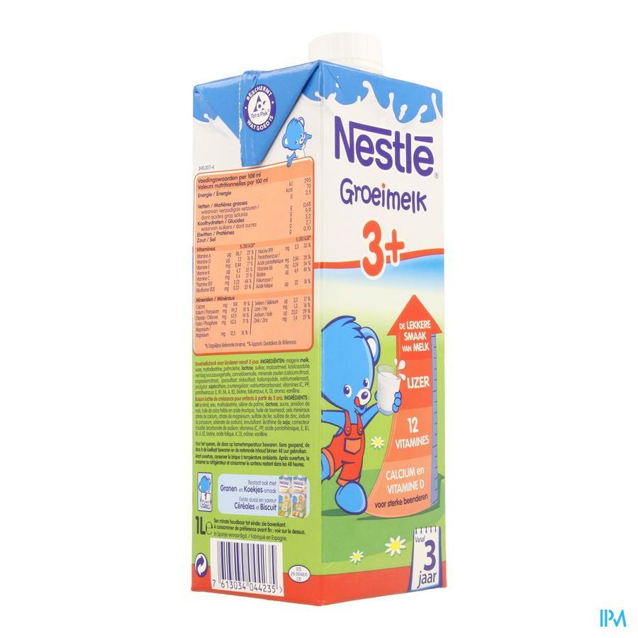 Nestle Groeimelk 3+ Tetra 1l