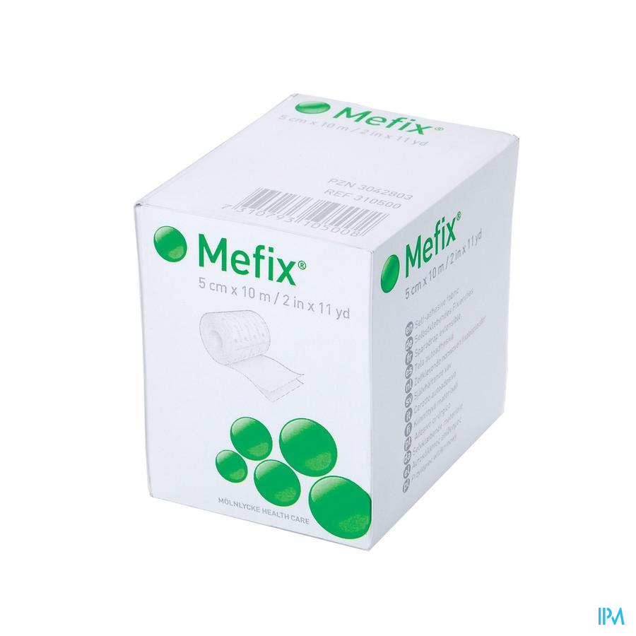 Mefix Zelfklevende Fixatie 5,0cmx10,0m 1 310500