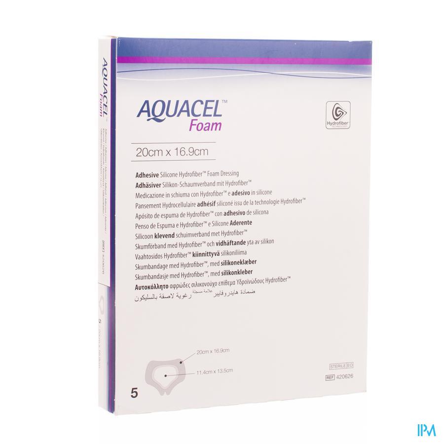 Aquacel Pans Mousse Adh Hydrof.sacr.19,8x14,0cm 5