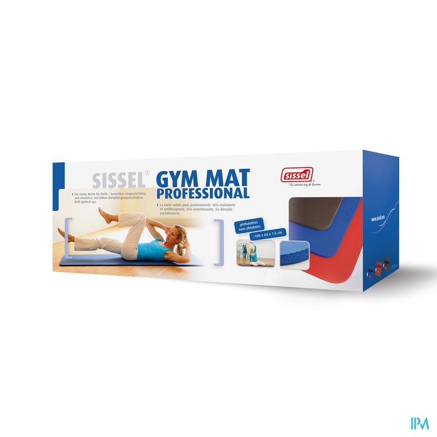 Sissel Gym Mat Professional Grijs
