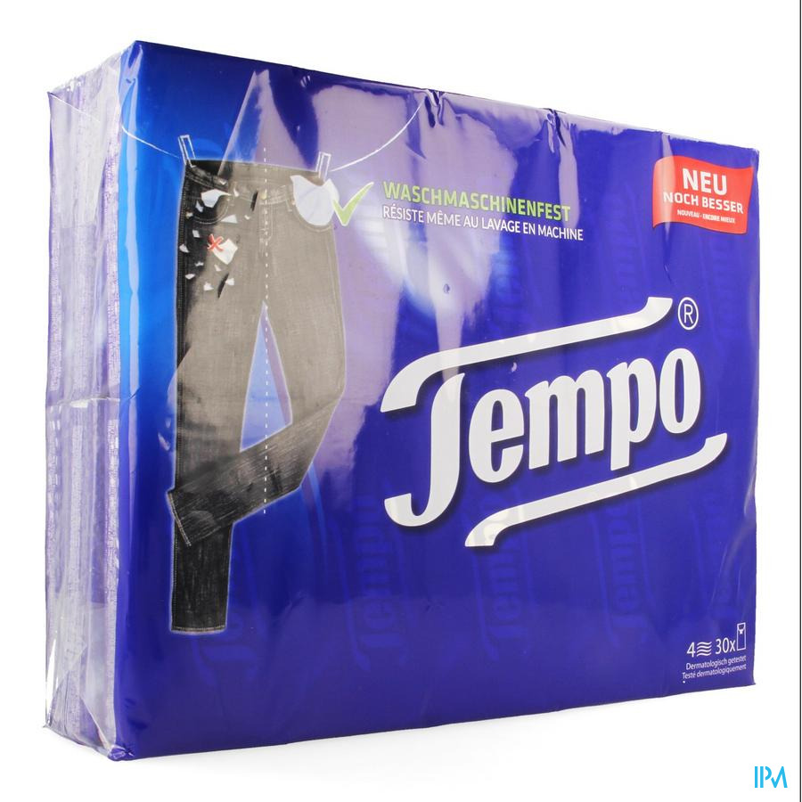 Tempo Plus Zakdoekjes 10x30