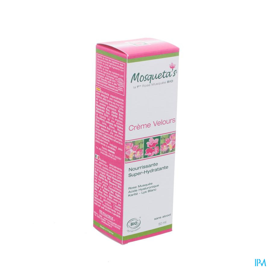 Mosquetas Rose Cr Rozenolie Fluweelzacht Hydra50ml