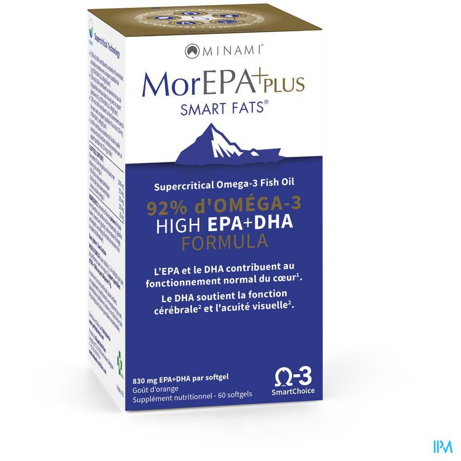 Minami Morepa Plus Dose 2 Mois Softgels 60