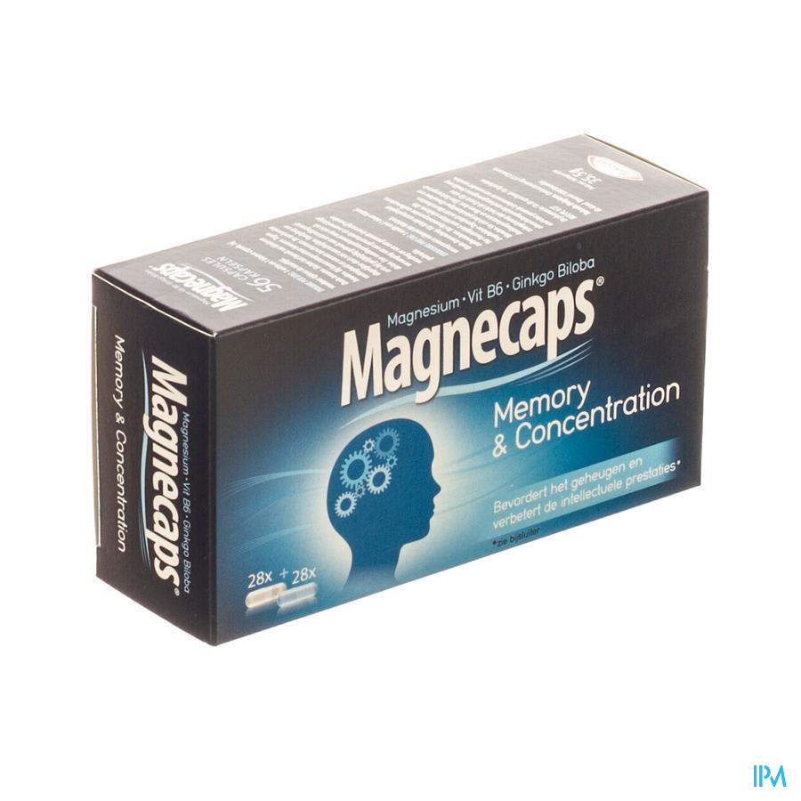 MAGNECAPS MEMORY&CONCENTRATION CAPS 56 CFR 3325404
