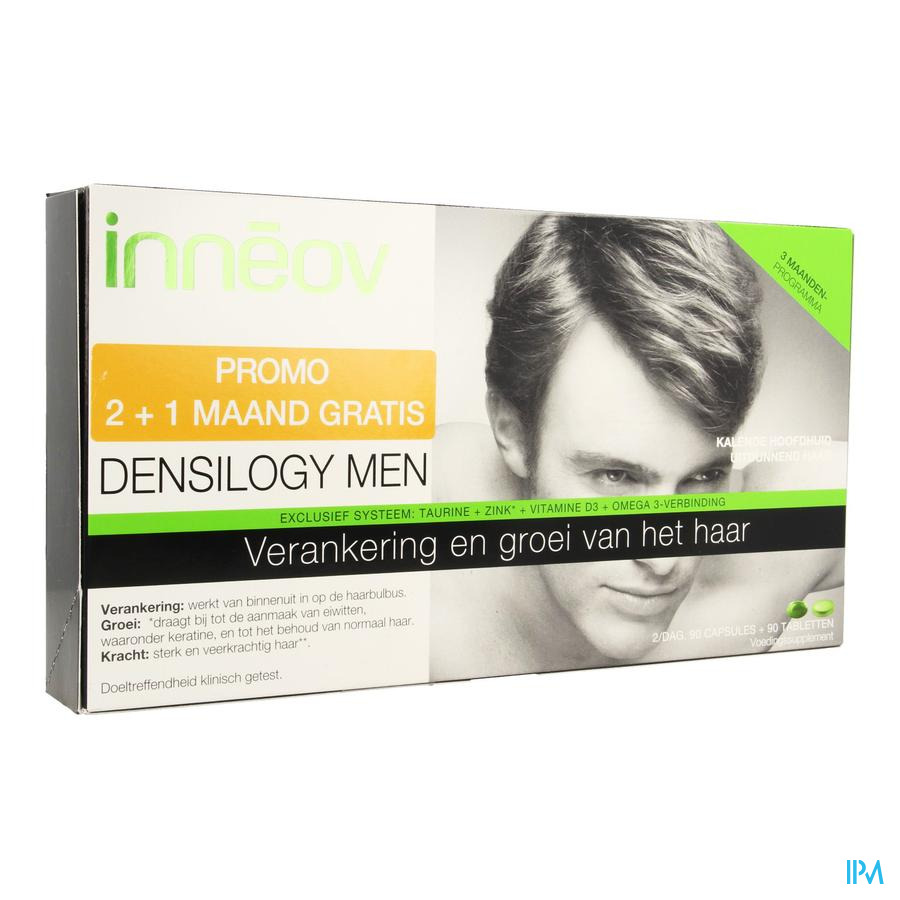 Inneov Densilogy Homme Caps 90 + Comp 90 Promo