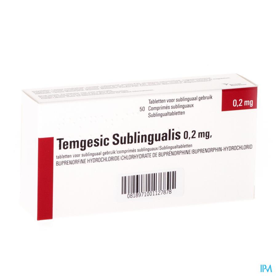 Temgesic Sublingualis Comp 50 X 0,216mg