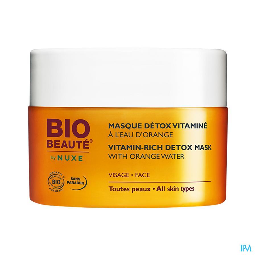 Afbeelding Nuxe Bio Beauté Ontgiftend Vitaminemasker voor Stralende Huid voor Gelaat voor Alle Huidtypes 50 ml.