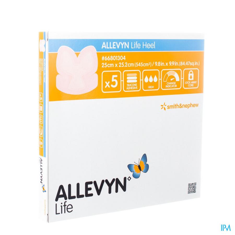 Allevyn Life Heel Verband 25,0x25,2cm 5 66801304